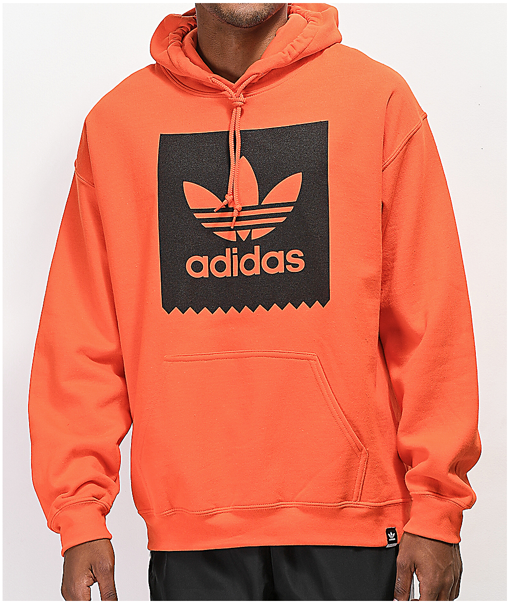 2c3a6f23d6 adidas Blackbird Orange Hoodie