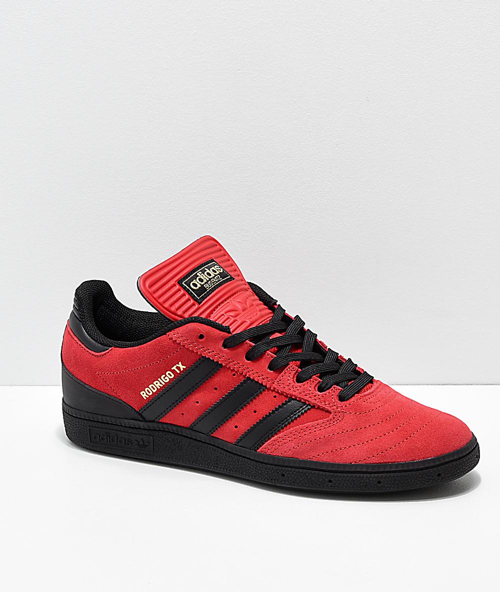 2adidas zapatos rojos