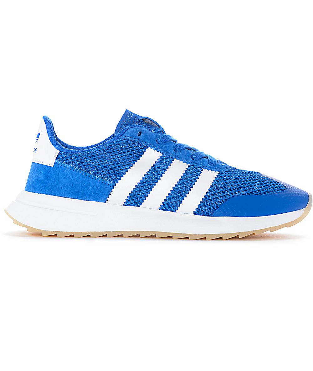 Womens Shoes Blueamp; White Flashback Adidas 54jLR3A