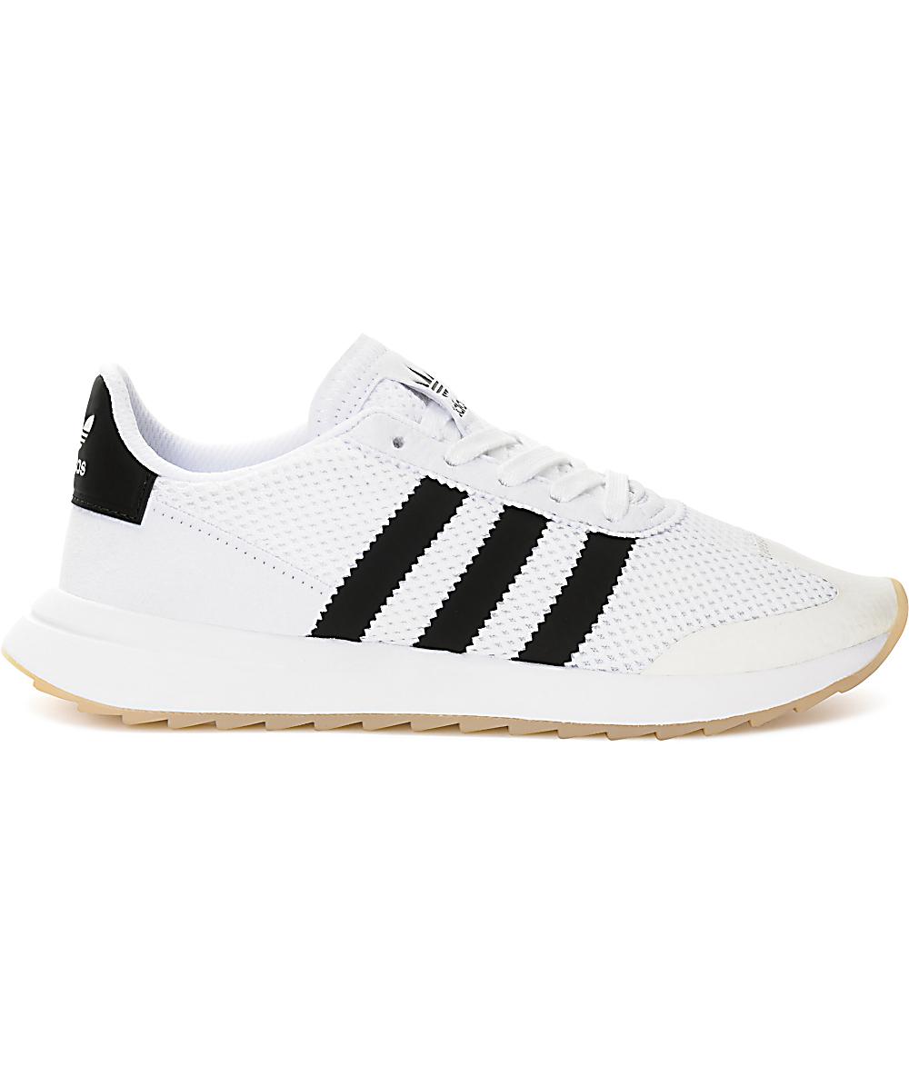 adidas Flashback zapatos en blanco y negro para mujeres