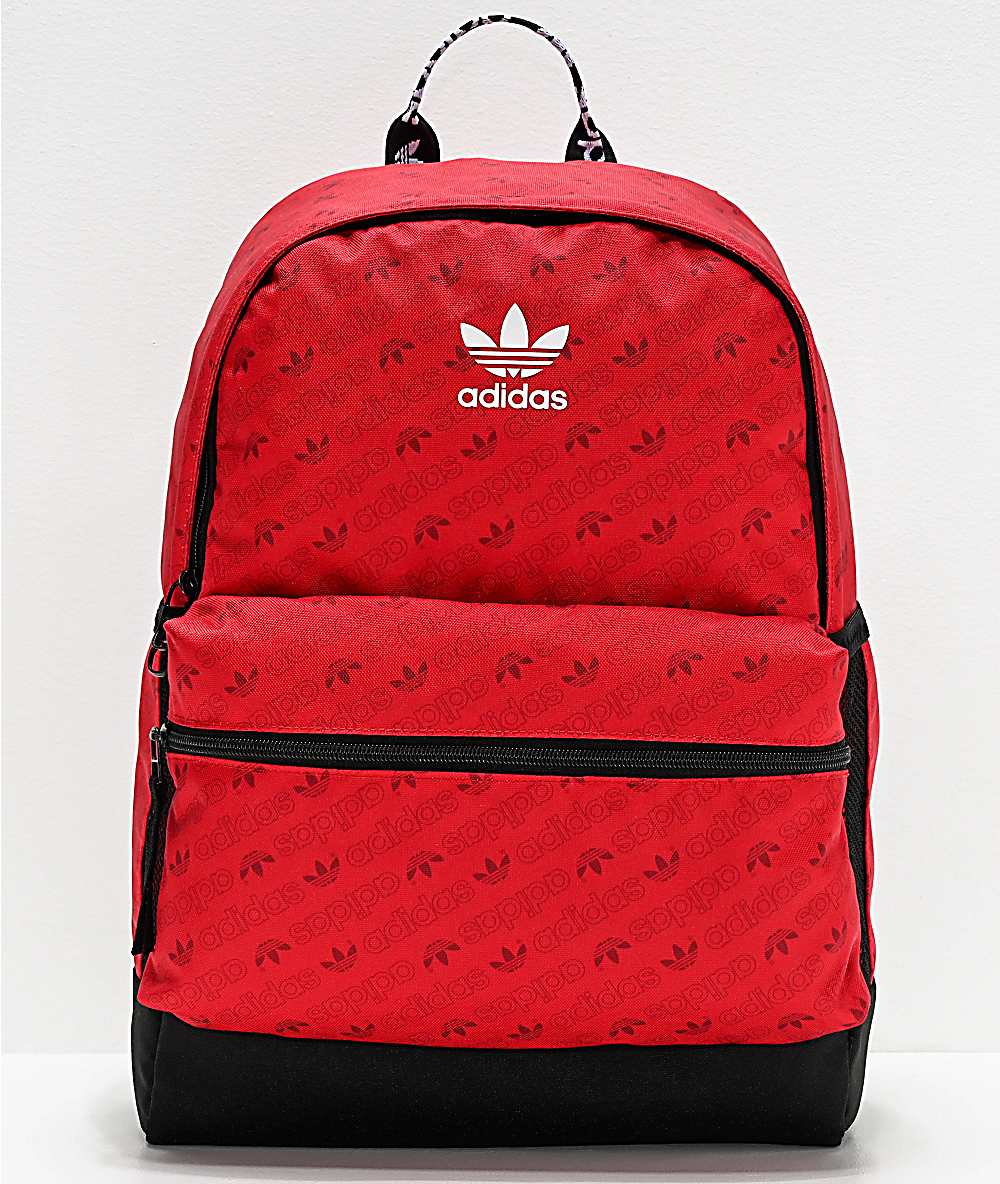 Allover Adidas National Roja Print Mochila HE9WD2I