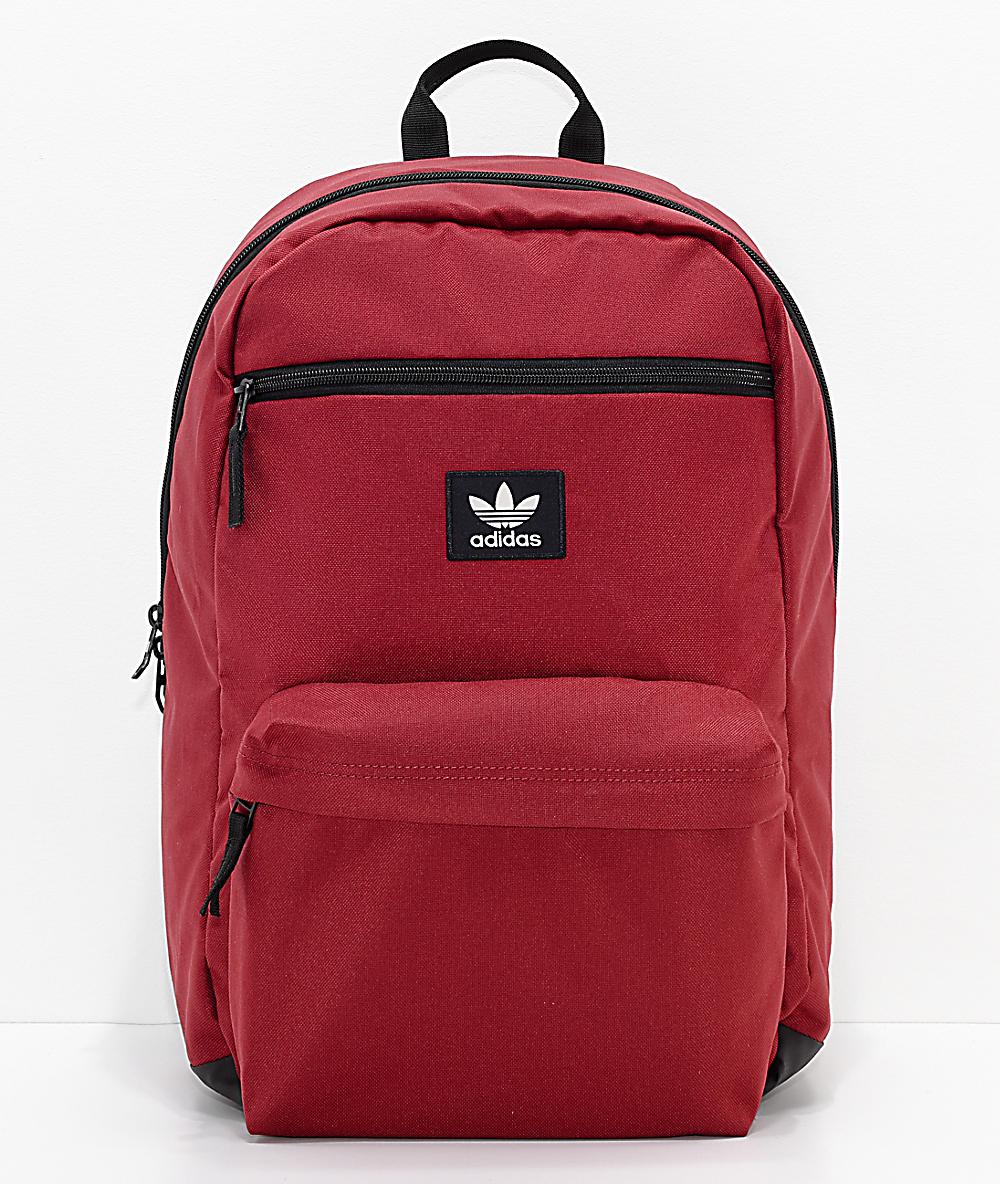 cc3a2230db adidas Originals National Burgundy Backpack