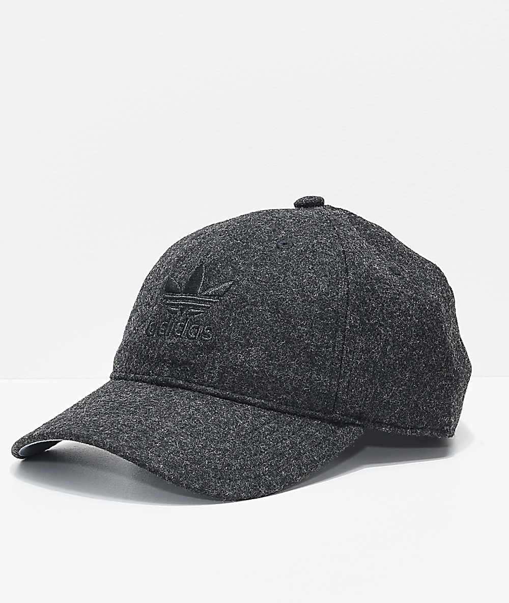 adidas Originals Relaxed Strap Back Hat Black | adidas US