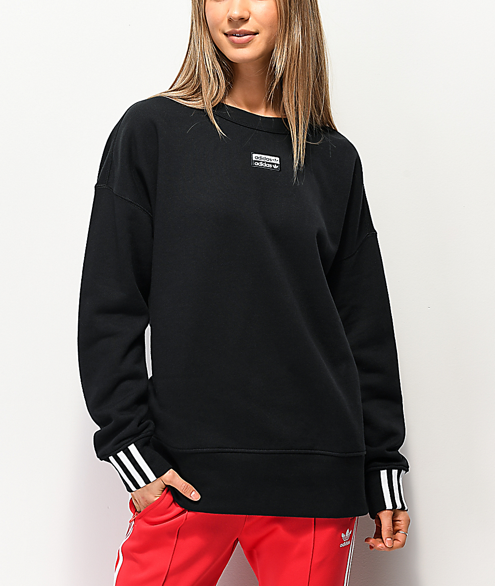 adidas v neck sweatshirt
