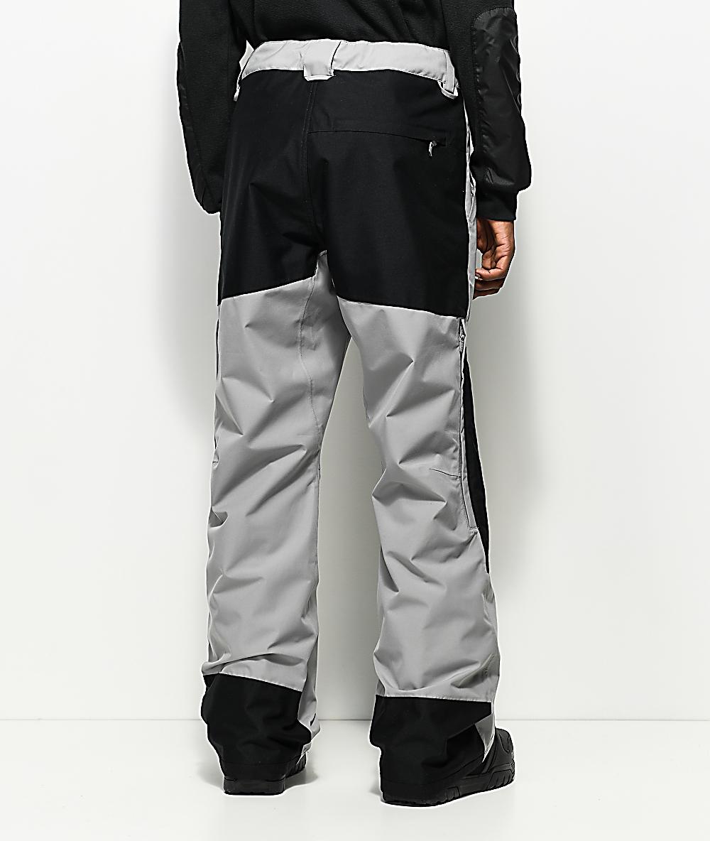 adidas Riding Pant Charcoal & Black 10k Snowboard Pants