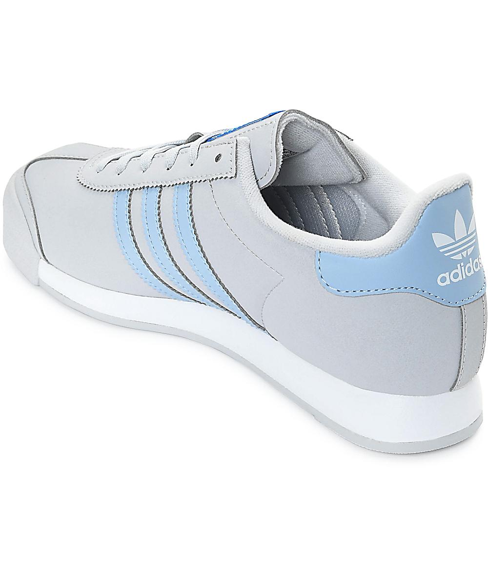 Zapatillas Adidas Cuero Samoa Azul Zapatillas Zapatillas