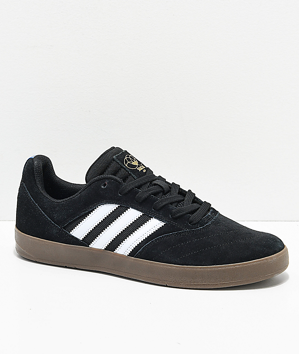nuevo diseño hermoso estilo Nuevos objetos adidas Suciu ADV II Black, White & Gum Shoes | Zumiez