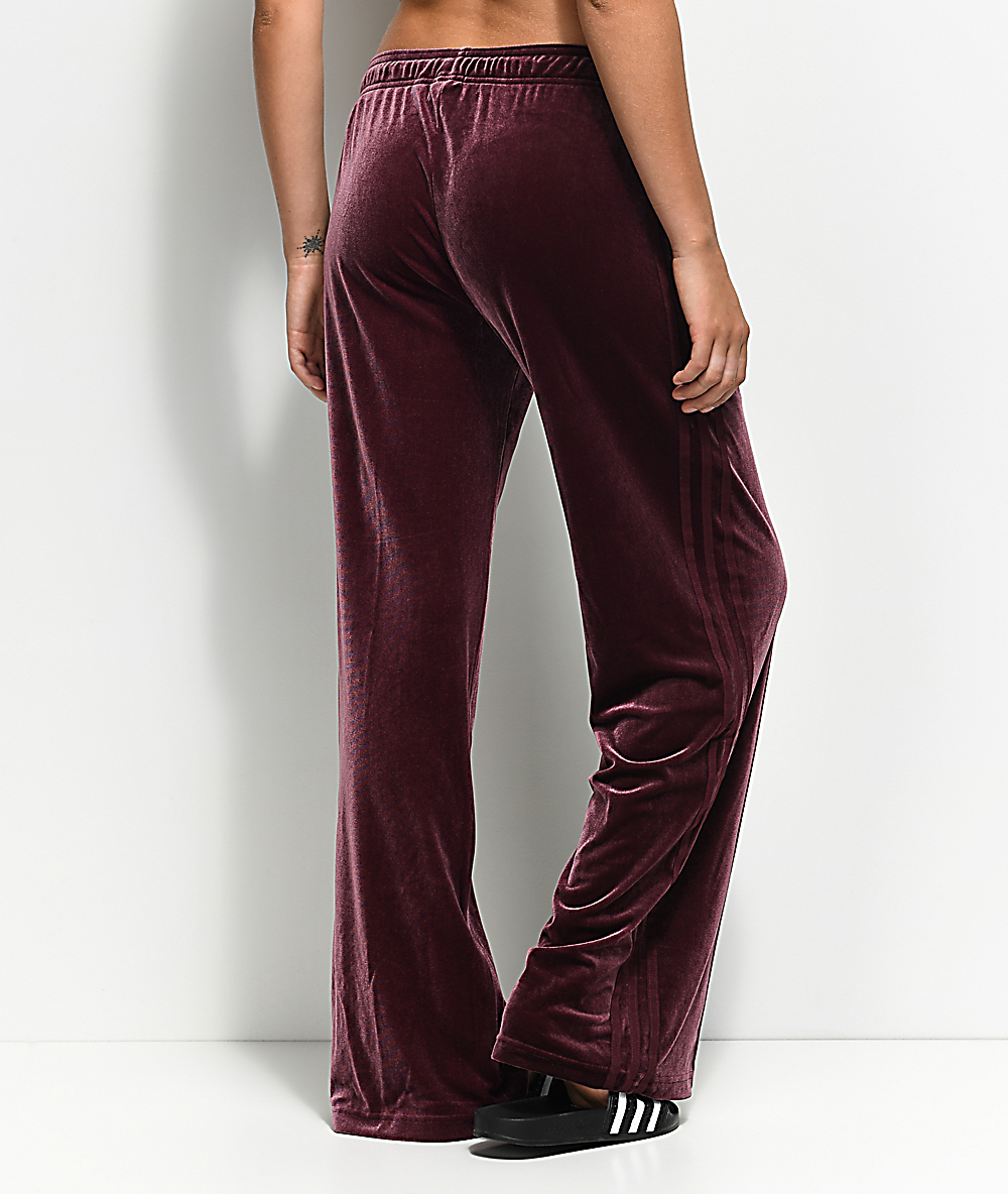 adidas pants velour
