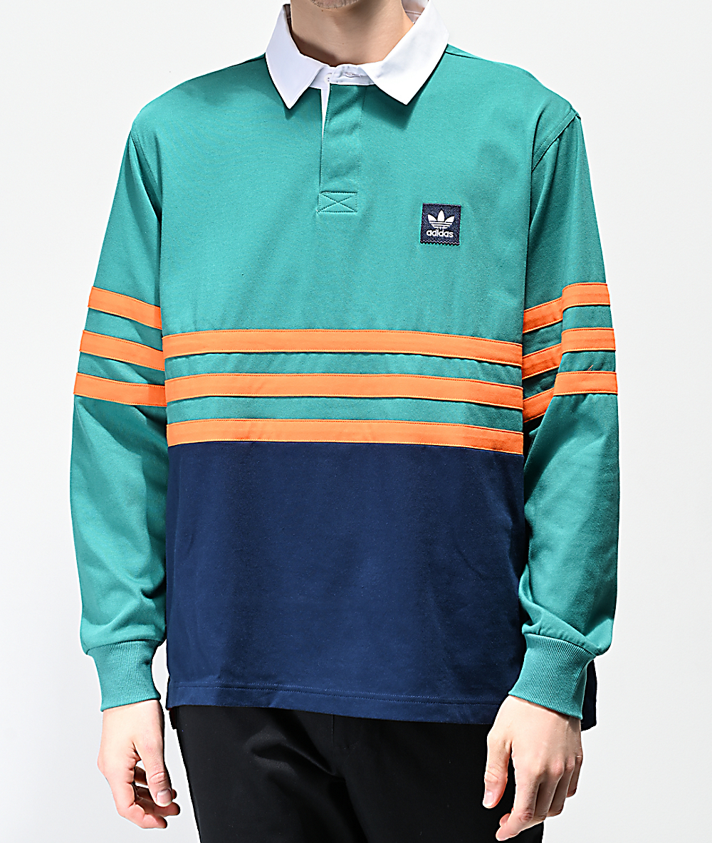 adidas polo long sleeve