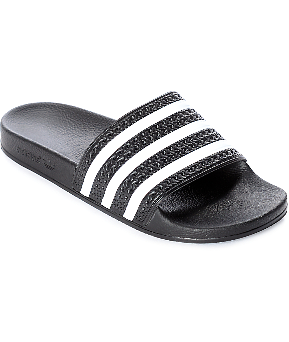 great look Super discount discount up to 60% adidas Women's Adilette Black Slides
