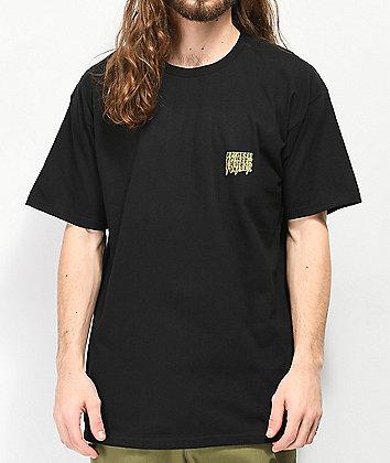 10 Deep Digital Divide Black T-Shirt