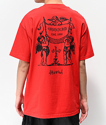 4Hunnid Angels Red T-Shirt