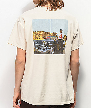 4Hunnid Photo Cream T-Shirt