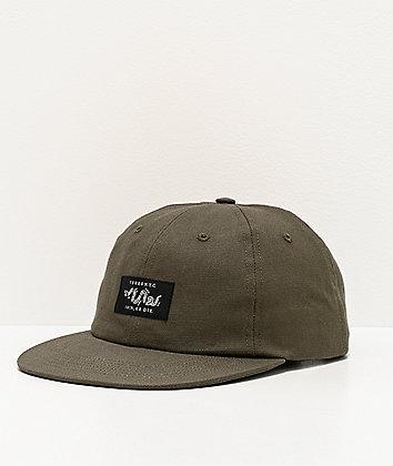5Boro Join Or Die Olive Strapback Hat