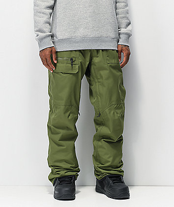 686 Vice Surplus Green 10K Snowboard Pants