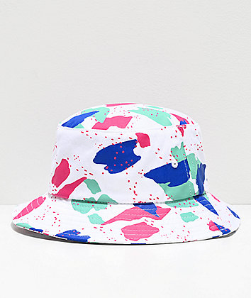 A-Lab Andie White Bucket Hat
