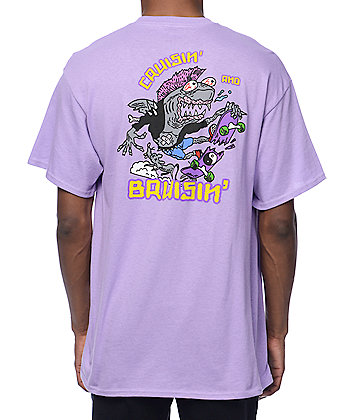 A-Lab Cruisin n Brusin Purple T-Shirt