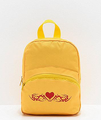 A-Lab Demi Yellow Mini Backpack
