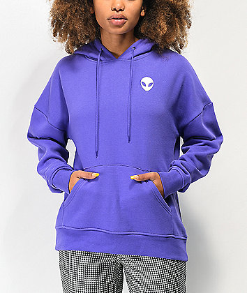 A-Lab Freela Alien Purple Hoodie