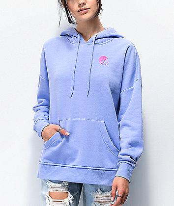A-Lab Freela Yin Yang Lavender Hoodie