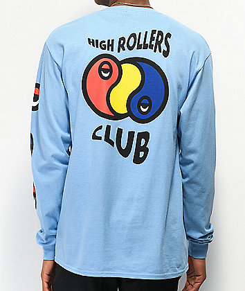 A-Lab High Rollers Light Blue Long Sleeve T-Shirt