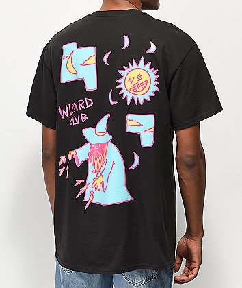 A-Lab Wizard Club Black T-Shirt