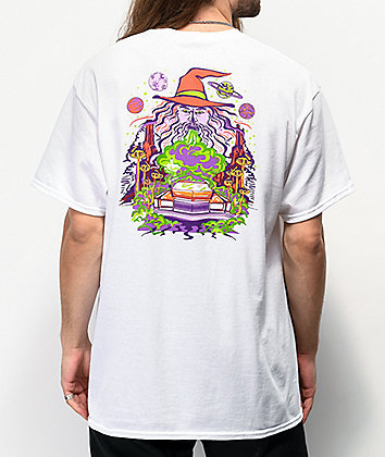 A-Lab Wizard Cruising White T-Shirt