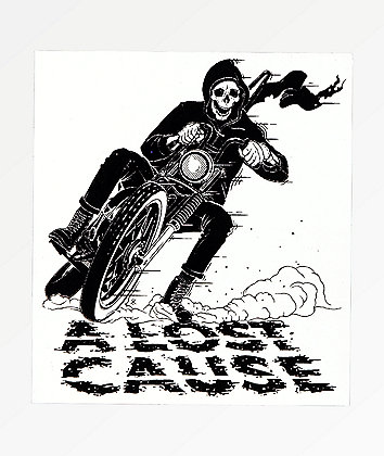 A Lost Cause Corner Reaper Sticker