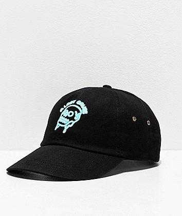 A Lost Cause Glow Black Strapback Hat