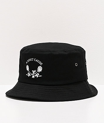 A Lost Cause Pay Later Black Bucket Hat