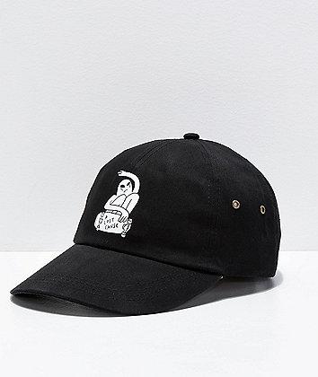 A Lost Cause Rippin' Black Strapback Hat