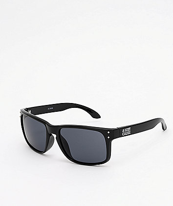 A Lost Cause Wrap Black & Smoke Sunglasses
