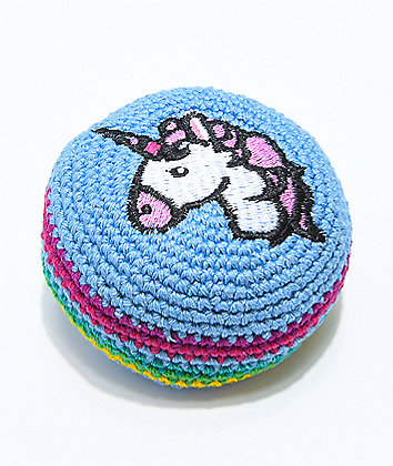 Adventure Imports Unicorn Rainbow Hacky Sack