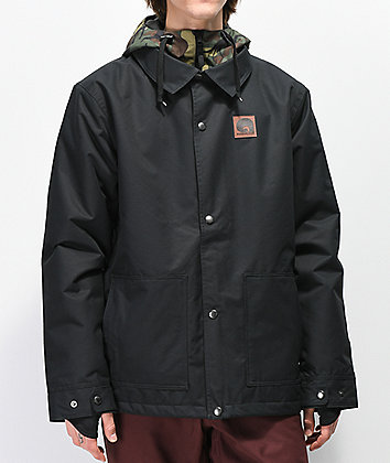 Airblaster Work Black 10K Snowboard Jacket