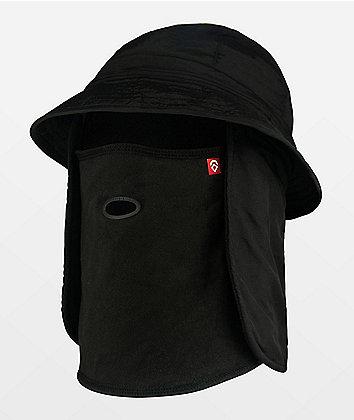 Airhole Black Bucket Hat Balaclava
