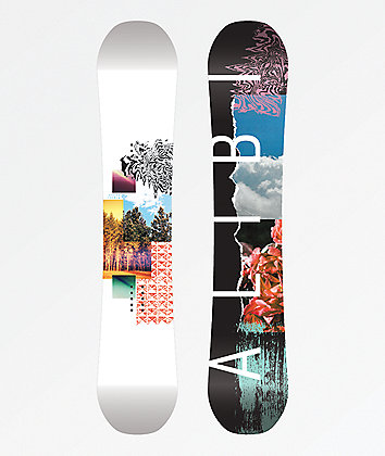 Alibi Sicter Snowboard 2020 - Graphic Blem