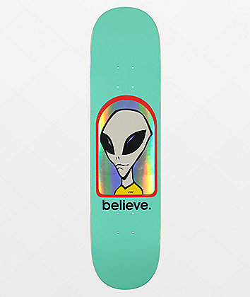 "Alien Workshop Believe Hologram 7.75"" Skateboard Deck"