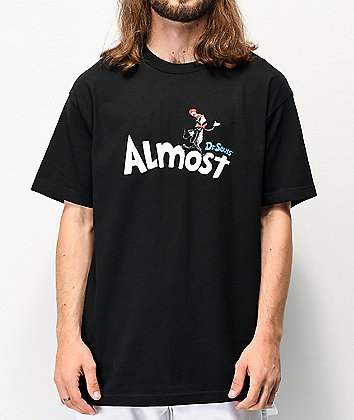 Almost x Dr. Seuss Black T-Shirt
