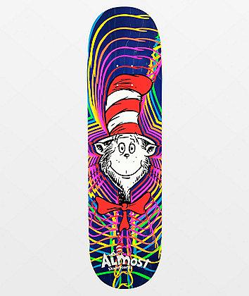 "Almost x Dr. Seuss Zoom Cat 8.38"" Skateboard Deck"