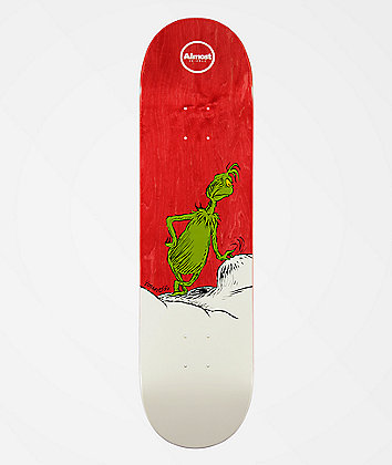 """Almost x Grinch Youness R7 8.25"""" Skateboard Deck"""