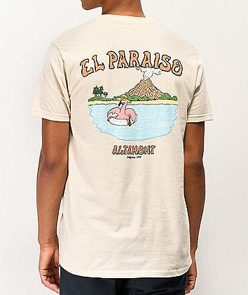 Altamont El Paraiso Tan T-Shirt