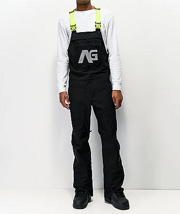 Analog Ice Out Black 10K Snowboard Bib Pants