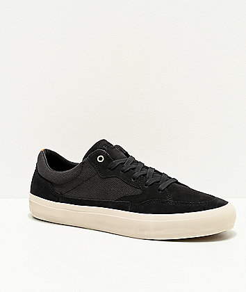 Arbor Foundation Black & Off White Skate Shoes