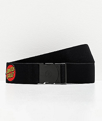 Arcade x Santa Cruz Rambler Dot Logo Black Belt