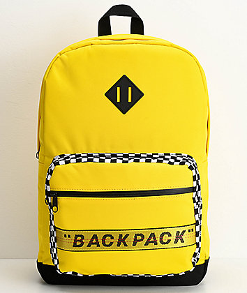 "Artist Collective ""Backpack"" Yellow Backpack"