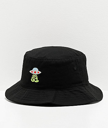 Artist Collective A51 Beam Black Bucket Hat