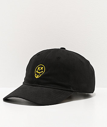 Artist Collective A51 Drip Black Strapback Hat