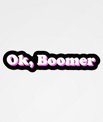 Artist Collective Ok Boomer Bubble Sticker