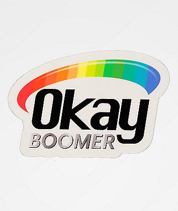 Artist Collective Okay Boomer Vita Sticker