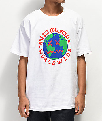 Artist Collective Worldwide White T-Shirt
